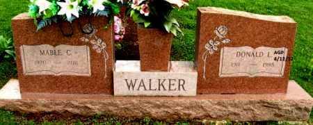 WALKER, DONALD L - Washington County, Arkansas   DONALD L WALKER - Arkansas Gravestone Photos