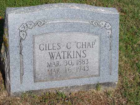"WATKINS, GILES C. ""CHAP"" - Washington County, Arkansas 
