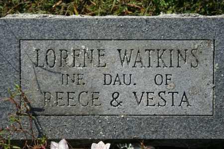 WATKINS, LORENE - Washington County, Arkansas | LORENE WATKINS - Arkansas Gravestone Photos