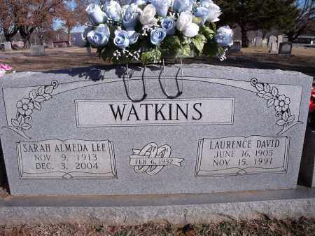LEE WATKINS, SARAH ALMEDA - Washington County, Arkansas | SARAH ALMEDA LEE WATKINS - Arkansas Gravestone Photos