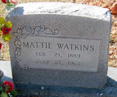 WATKINS, MATTIE - Washington County, Arkansas | MATTIE WATKINS - Arkansas Gravestone Photos