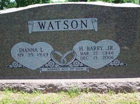 WATSON, HAROLD BARRY, JR. - Washington County, Arkansas   HAROLD BARRY, JR. WATSON - Arkansas Gravestone Photos