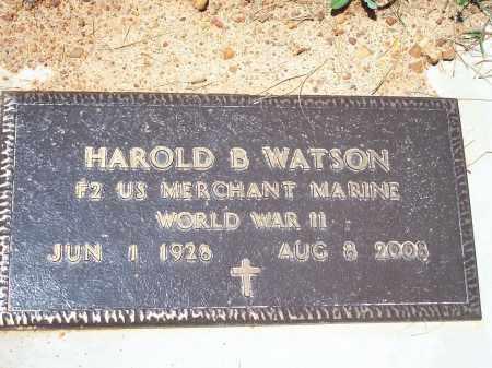 WATSON (VETERAN WWII), HAROLD BARRY SR - Washington County, Arkansas | HAROLD BARRY SR WATSON (VETERAN WWII) - Arkansas Gravestone Photos