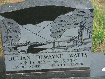 "WATTS, JULIAN ""DEWAYNE"" - Washington County, Arkansas | JULIAN ""DEWAYNE"" WATTS - Arkansas Gravestone Photos"