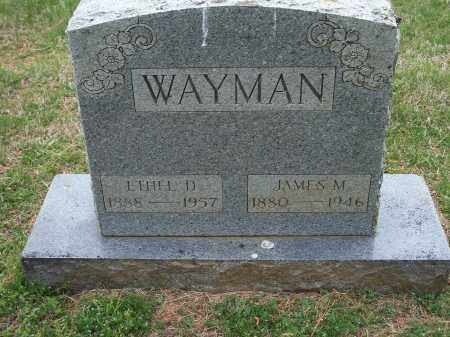 WAYMAN, ETHEL D. - Washington County, Arkansas | ETHEL D. WAYMAN - Arkansas Gravestone Photos