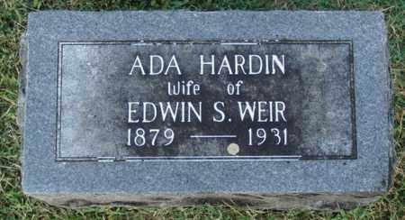 WEIR, ADA - Washington County, Arkansas   ADA WEIR - Arkansas Gravestone Photos