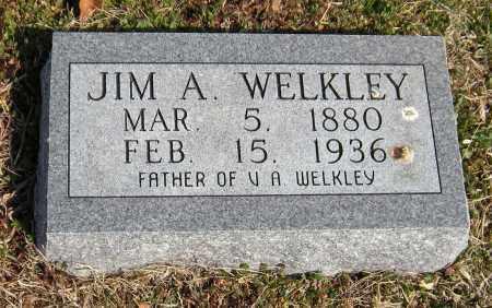 WELKLEY, JIM A - Washington County, Arkansas   JIM A WELKLEY - Arkansas Gravestone Photos