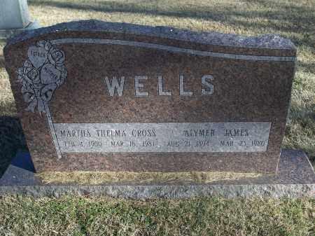 WELLS, ALYMER JAMES - Washington County, Arkansas | ALYMER JAMES WELLS - Arkansas Gravestone Photos