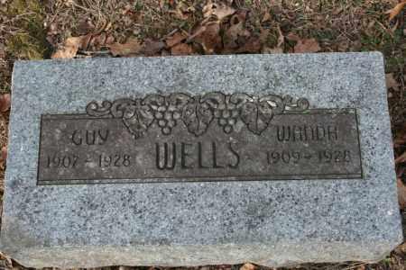 WELLS, GUY - Washington County, Arkansas | GUY WELLS - Arkansas Gravestone Photos