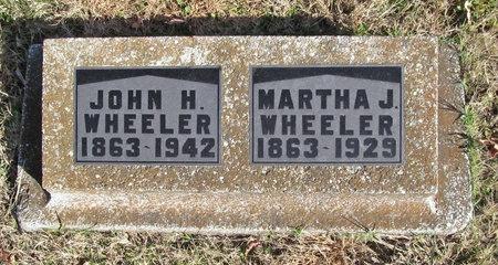 WHEELER, JOHN H - Washington County, Arkansas | JOHN H WHEELER - Arkansas Gravestone Photos