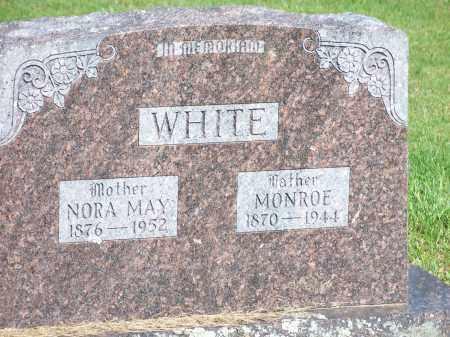 WHITE, OLIVER MONROE - Washington County, Arkansas | OLIVER MONROE WHITE - Arkansas Gravestone Photos