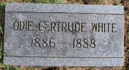 WHITE, ODIE GERTRUDE - Washington County, Arkansas | ODIE GERTRUDE WHITE - Arkansas Gravestone Photos