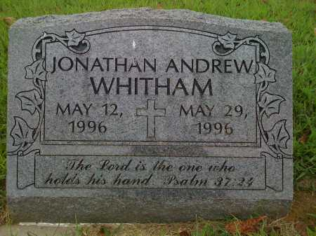 WHITHAM, JONATHAN ANDREW - Washington County, Arkansas   JONATHAN ANDREW WHITHAM - Arkansas Gravestone Photos