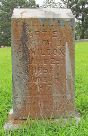 WILCOX, ARTIE - Washington County, Arkansas   ARTIE WILCOX - Arkansas Gravestone Photos