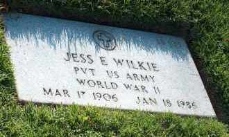 WILKIE (VETERAN WWII), JESS E. - Washington County, Arkansas | JESS E. WILKIE (VETERAN WWII) - Arkansas Gravestone Photos