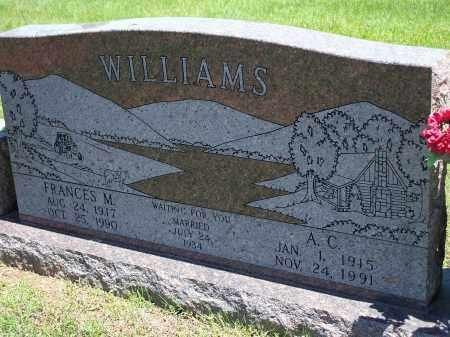 WILLIAMS, A.C. - Washington County, Arkansas | A.C. WILLIAMS - Arkansas Gravestone Photos
