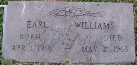 WILLIAMS, EARL - Washington County, Arkansas | EARL WILLIAMS - Arkansas Gravestone Photos