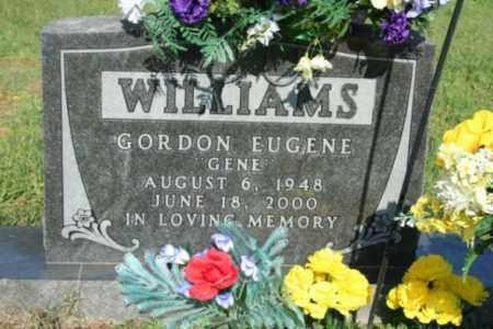 "WILLIAMS, GORDON EUGENE ""GENE"" - Washington County, Arkansas   GORDON EUGENE ""GENE"" WILLIAMS - Arkansas Gravestone Photos"