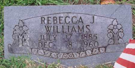 WILLIAMS, REBECCA J. - Washington County, Arkansas   REBECCA J. WILLIAMS - Arkansas Gravestone Photos