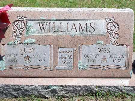 WILLIAMS, WES - Washington County, Arkansas | WES WILLIAMS - Arkansas Gravestone Photos