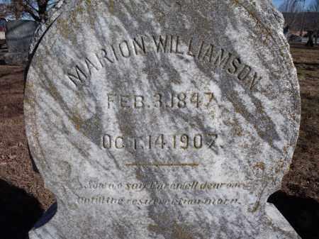 WILLIAMSON, MARION - Washington County, Arkansas | MARION WILLIAMSON - Arkansas Gravestone Photos