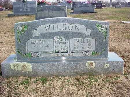 WILSON, MAUDIE ELLEN - Washington County, Arkansas | MAUDIE ELLEN WILSON - Arkansas Gravestone Photos