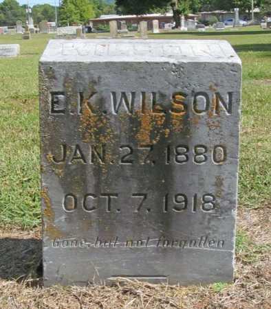 WILSON, E. K. - Washington County, Arkansas | E. K. WILSON - Arkansas Gravestone Photos