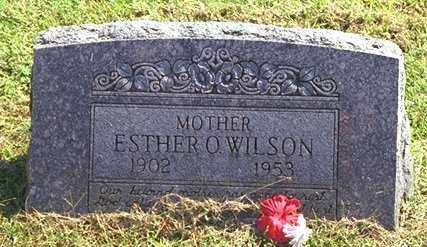 OSBURN WILSON, ESTHER O - Washington County, Arkansas | ESTHER O OSBURN WILSON - Arkansas Gravestone Photos
