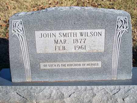 WILSON, JOHN SMITH - Washington County, Arkansas | JOHN SMITH WILSON - Arkansas Gravestone Photos
