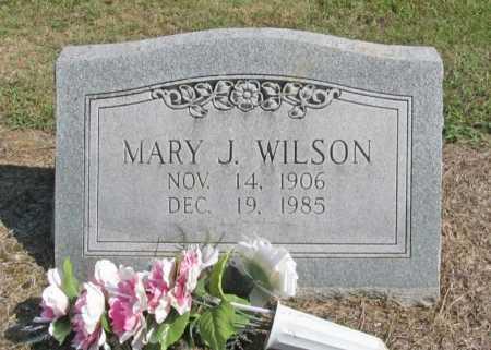 WILSON, MARY J. - Washington County, Arkansas | MARY J. WILSON - Arkansas Gravestone Photos