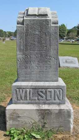 WILSON, MARY K. - Washington County, Arkansas   MARY K. WILSON - Arkansas Gravestone Photos