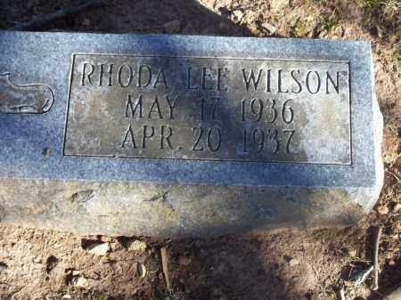 WILSON, RHODA LEE - Washington County, Arkansas | RHODA LEE WILSON - Arkansas Gravestone Photos