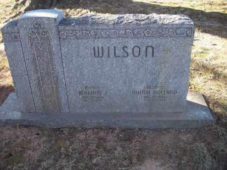 HOLLAND WILSON, RHODA - Washington County, Arkansas | RHODA HOLLAND WILSON - Arkansas Gravestone Photos