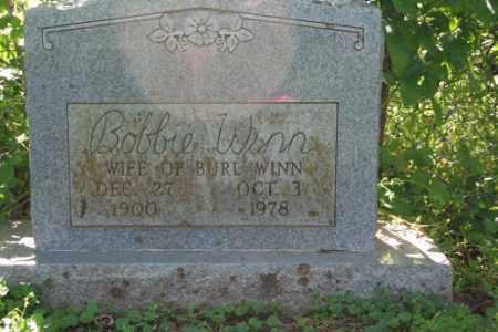 WINN, BOBBIE - Washington County, Arkansas   BOBBIE WINN - Arkansas Gravestone Photos