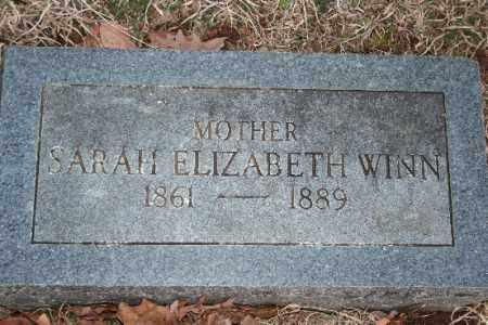 WINN, SARAH ELIZABETH - Washington County, Arkansas | SARAH ELIZABETH WINN - Arkansas Gravestone Photos