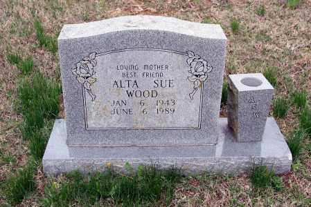 WOOD, ALTA SUE - Washington County, Arkansas | ALTA SUE WOOD - Arkansas Gravestone Photos