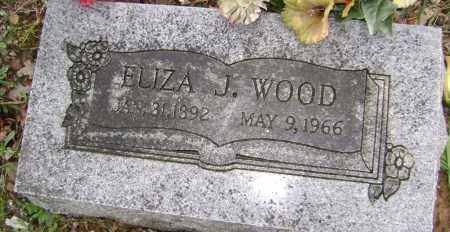 WOOD, ELIZA J - Washington County, Arkansas | ELIZA J WOOD - Arkansas Gravestone Photos