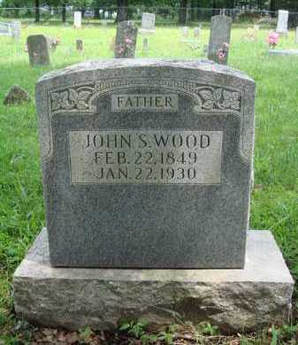 WOOD, JOHN S. - Washington County, Arkansas | JOHN S. WOOD - Arkansas Gravestone Photos