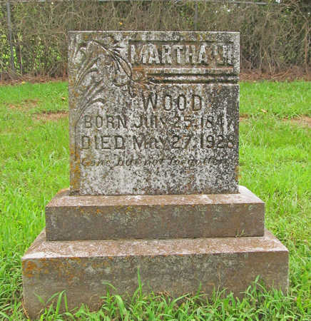 WOOD, MARTHA J - Washington County, Arkansas | MARTHA J WOOD - Arkansas Gravestone Photos