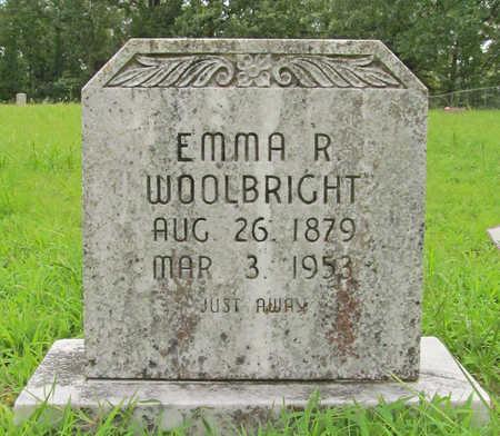 WOOLBRIGHT, EMMA R - Washington County, Arkansas   EMMA R WOOLBRIGHT - Arkansas Gravestone Photos
