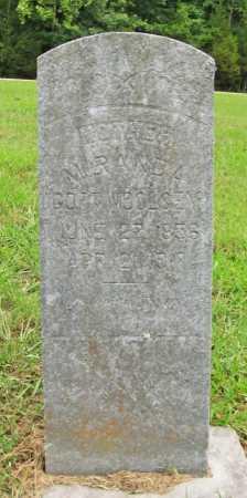 GOFF WOOLSEY, MIRANDA - Washington County, Arkansas | MIRANDA GOFF WOOLSEY - Arkansas Gravestone Photos