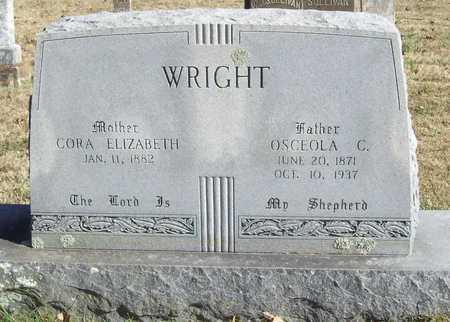 WRIGHT, CORA ELIZABETH - Washington County, Arkansas | CORA ELIZABETH WRIGHT - Arkansas Gravestone Photos