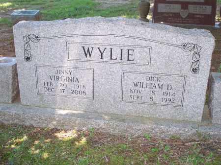 "CLARK WYLIE, VIRGINIA  ""JINNY"" - Washington County, Arkansas | VIRGINIA  ""JINNY"" CLARK WYLIE - Arkansas Gravestone Photos"