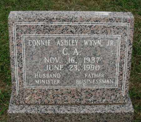WYNN JR., CONNIE ASHLEY - Washington County, Arkansas | CONNIE ASHLEY WYNN JR. - Arkansas Gravestone Photos