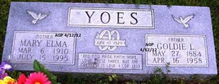 YOES, GOLDIE L - Washington County, Arkansas   GOLDIE L YOES - Arkansas Gravestone Photos