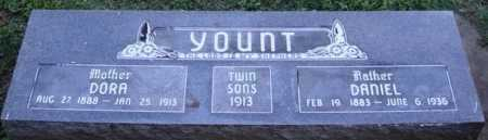 YOUNT, DORA - Washington County, Arkansas | DORA YOUNT - Arkansas Gravestone Photos