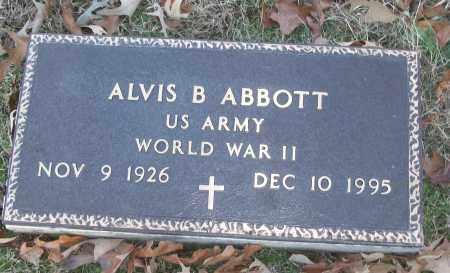 ABBOTT (VETERAN WWII), ALVIS B - White County, Arkansas | ALVIS B ABBOTT (VETERAN WWII) - Arkansas Gravestone Photos
