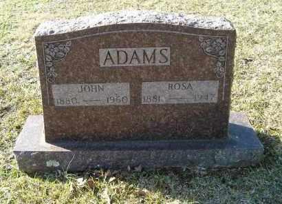 ADAMS, JOHN - White County, Arkansas | JOHN ADAMS - Arkansas Gravestone Photos