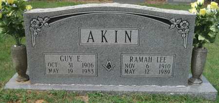 AKIN, GUY E - White County, Arkansas | GUY E AKIN - Arkansas Gravestone Photos