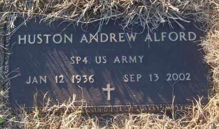 ALFORD (VETERAN), HUSTON ANDREW - White County, Arkansas   HUSTON ANDREW ALFORD (VETERAN) - Arkansas Gravestone Photos